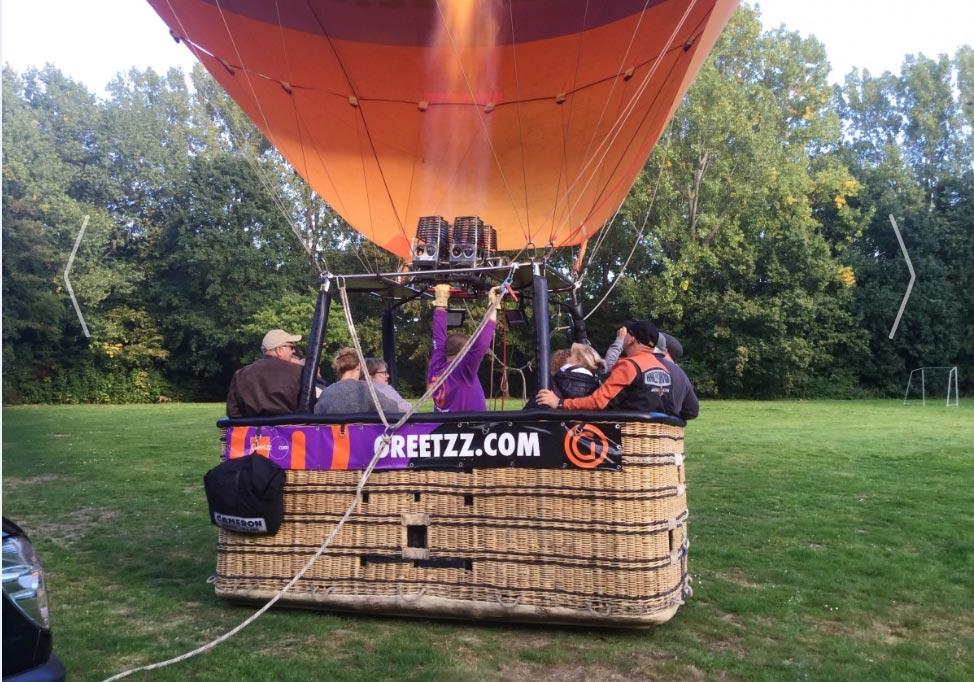 ballonvaart over Tilburg