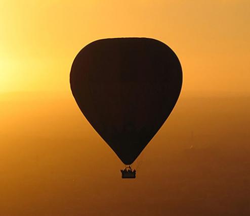 Ballonvaren over Tilburg