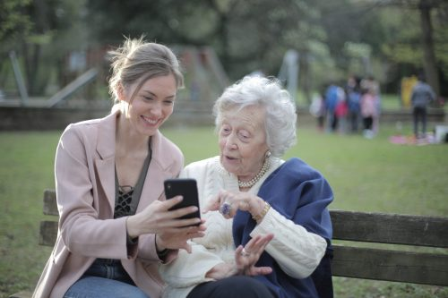 Senioren mobiel